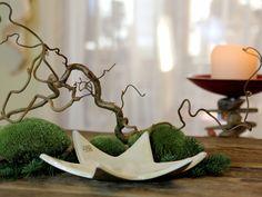 Stern, Schale, Adventsteller aus Keramik von karolart auf Etsy