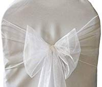 Stoltrekk hvite til bryllup | Nettbutikk med WOW produkter