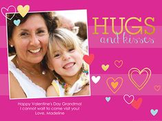 Show your loved ones how much you care with a special Valentine's Day card you can personalize with photos or videos.