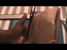 Vertical Paperbag Mini Tutorial Pt 1 - YouTube