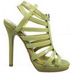 Jimmy Choo Glenys Elaphe Beige Leather Sandals......