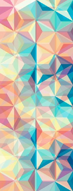 Colorful Triangle Pattern Patterned Pinterest