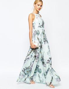 675bda65027fbf Image 4 of Ted Baker Marxel Torchlit Floral Maxi Dress Asos Bridesmaid