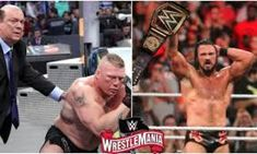 Wrestlemania 36: The Unbelievable 5 Star Fight Between The Beast Brock Lesnar and Drew Mcintyre