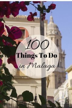 If you have never been to Malaga, or if you haven't been in a long time, this is the city to put at the top of your list. 100 Malaga attractions that you simply can't miss! http://devourmalagafoodtours.com/100-things-to-do-in-malaga/