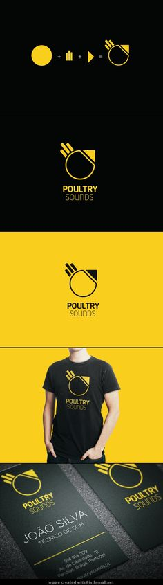 Poultry Sounds branding