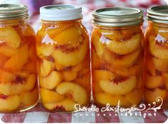Canning Peaches, Nectarines & Plums (and a canned fruit cobbler recipe) - I LOVE this blog!!