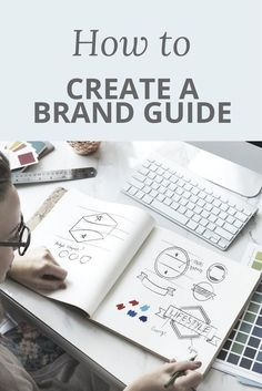 Think how much easier your life would be if you collated all the key elements of your brand in once place! By creating a brand guide, you can keep your brand style, logo, brand colours, brand tone of voice and everything else that makes your online business special together for easy access. Check out this video post where I tell you how you can make your very own brand guide for your biz.