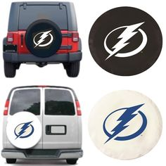 Use the code PINFIVE to receive an additional 5% discount off the price of the Tampa Bay Lightning NHL Exact Fit Tire Cover
