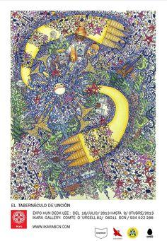 """Cartel de la exposición """"El Tabernáculo de Unción"""""""