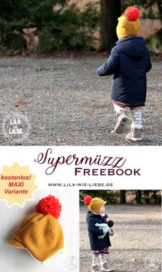 kindermütze winter selbst genäht, freebook, kostenloses schnittmuster