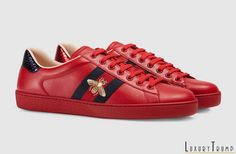 49ccedc4cb6 Gucci Ace Sneakers Cruise 2017 Collection  Luxury  Fashion  Gucci