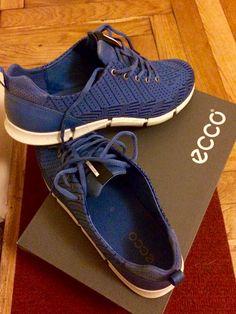Women's ECCO Shoes Blue Navy