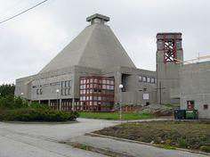 Rossabø church in Haugesund, Norway