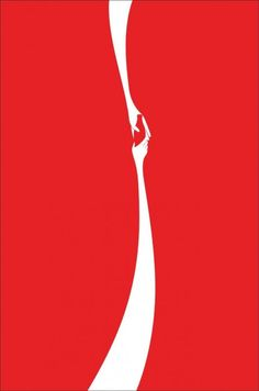 """I think this is a clever ad for Coca-Cola. They are so well known, that it isn't necessary to specify the brand, but instead take advantage of using the """"swoosh."""""""