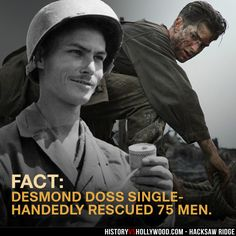 We pit the Hacksaw Ridge movie vs. the true story of Desmond Doss, Medal of Honor recipient. See the real Desmond Doss and wife Dorothy Schutte. The Words, Okinawa, Hacksaw Ridge Movie, Desmond Doss, Divas, Medal Of Honor Recipients, War Film, Extraordinary People, Why Do People