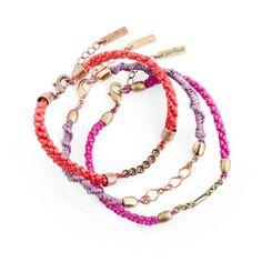 grown-up friendship bracelets.