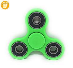 Fidget Spinner Fingerkreisel in 4 Farben mit Kugellager (Grün) - Fidget spinner (*Partner-Link)