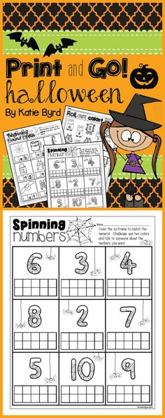 Candy Corn Roll and Color Games | Kinder halloween, Halloween und Kind