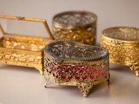 Filigree Gold Boxes