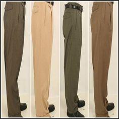 1686eab4aa17 Men's Wide Leg Single Pleated Pants Pleated Pants, Dress Pants, Harem Pants,  Trousers