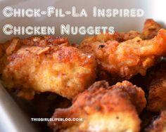 Chicken Nuggets (Chick-fil-la Inspired)