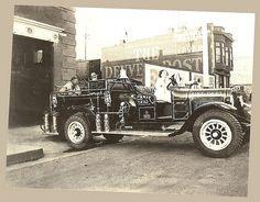 PHOTO #1 ~ Vintage Fire Truck, Victor, Colorado USA   Flickr