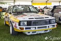 The Original 4-Wheel Drive Audi - The Audi Quattro