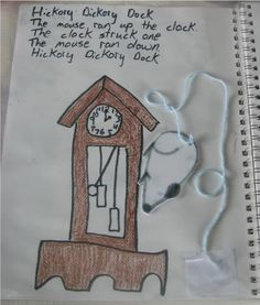 Lots of great craft/#notebook ideas for nursery rhymes from Adventures in Mommydom