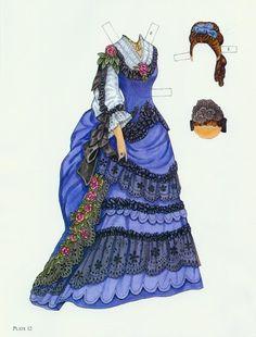 Godey's Fashion Paper Dolls 1860-1879 (Ming-Ju Sun) - Yakira Chandrani - Picasa Web Albums