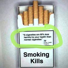UK chooses to directly promote ecigarette on cigarettes package. A choice of health ! L'Angleterre choisit de promouvoir directement l'ecigarette sur les paquets de cigarettes. Un choix de santé ! #vape #ecig