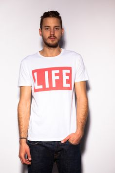 Altru apparel Life Magazine Logo Mens Graphic Tee --the original box logo