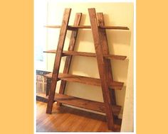 Ana White is awesome. This lady knows her way around the tool shed. The website gives the plans for many home projects. I think these shelves could be a great flower stand.