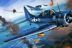 """Dauntless, Dive bomber-During the decisive period of the Pacific War, the SBD's strengths and weaknesses became evident. While the American strength was dive bombing, the Japanese stressed their Nakajima B5N2 """"Kate"""" torpedo bombers, which had caused the bulk of the damage during the Japanese attack on Pearl Harbor."""