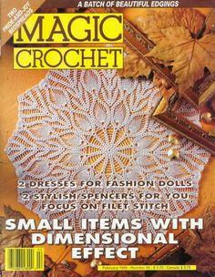 Artesanato com amor...by Lu Guimarães: Revista   Magic crochet 94  Completa
