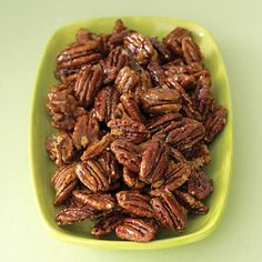 These were a delightful treat {Cajun Candied Pecans}