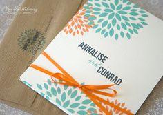 Dahlia Blooms Pocket Folder Matchbook Folder by LaniBlueWedding Wedding Day Wishes, Sister Wedding, Our Wedding Day, Wedding Things, Aqua Wedding, Wedding Bells, Floral Wedding, Wedding Colors, Wedding Ceremony Flowers