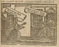 A good old c18th slanging match... Whoever said people were more polite in the old days?
