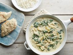 Get Creamy Spinach and Artichoke Chicken Skillet Recipe from Food Network