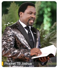 Image result for evelyn joshua wife of tb joshua   This can only be