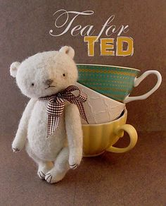 Ravelry: Tea for Ted Crochet Bear pattern by Sue Aucoin