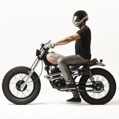 Honda XL250 #scrambler discover #motomood Honda Motorcycles, Vintage Motorcycles, Custom Motorcycles, Custom Bikes, Cg 125 Cafe Racer, Honda Xl, Tw 125, Motos Vintage, Cafe Moto