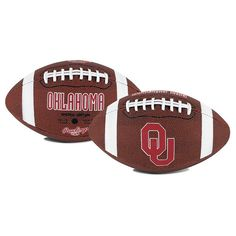 Rawlings Oklahoma Sooners Game Time Football, Red