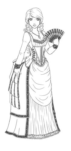 Mujer de época