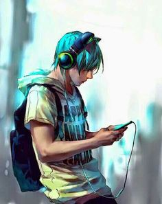 From : yuumei art - Fisheye Placebo Manga Anime, Anime Boys, Hot Anime Guys, Manga Boy, Neko, Cartoon Kunst, Anime Kunst, Guy Drawing, Manga Drawing