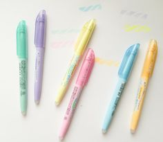 Pilot FriXion Pastel Highlighter Pen for Filofax by HappyMailOsaka