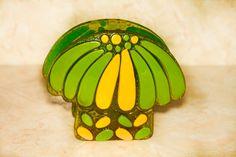 Vintage Colorflo Mushroom  Napkin Holder/ Desk by Fleaosophy, $32.00