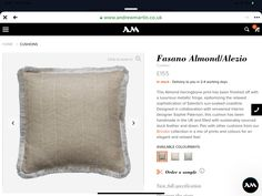 Sun Soaked, Soft Furnishings, Throw Pillows, Luxury, Design, Toss Pillows, Cushions, Reupholster Furniture