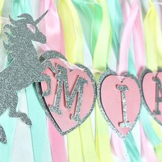 What a lovely day it's turned into 😎 I hope you guys have gorgeous sun too ☀️. . . . #glitter #unicorn #ribbongarland #pretty #happybirthday #unicornparty #mpsandtsc #uniquepartygifts #smallbusiness #supportsmall #instagirls #instaboy  #handmade #handcrafted #instakids #instamums #personalised #customorder #homedecor #nurserydecor #partydecor