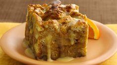 Orange-Kissed Breakfast Bread Pudding